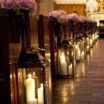 Des lanternes avec bougies pour la décoration de votre mariage